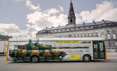 Bus Tank Advertisement