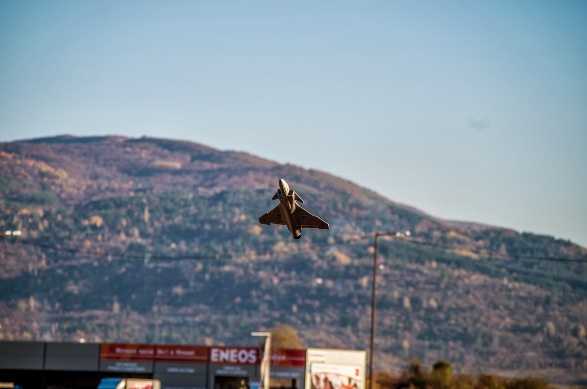 SkyAngel Gripen 50mm EDF Jet /w 3D printed TV nozzle unit