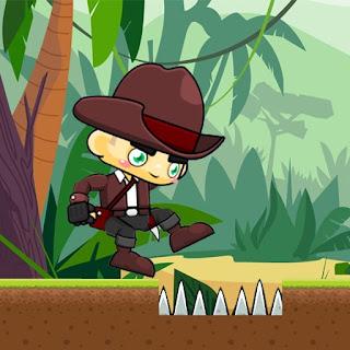 Capa do jogo Cowboy Jungle Adventures online
