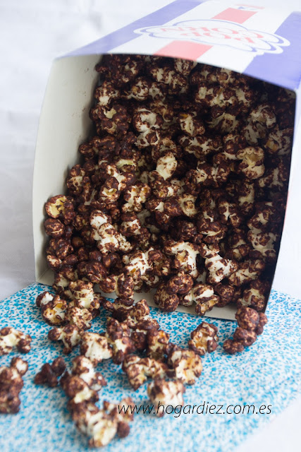 Palomitas de chocolate