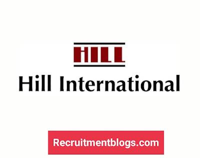 Fresh Graduates Receptionist At HILL INTERNATIONAL