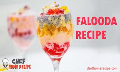 Falooda Recipe Pakistani - chefhomerecipe.com