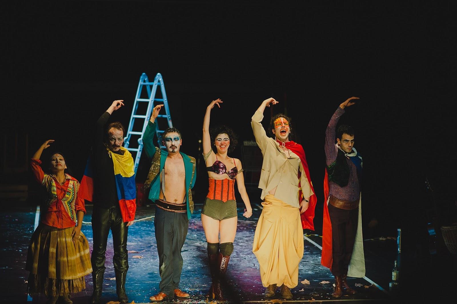 Pensador Teatral: Migrantes