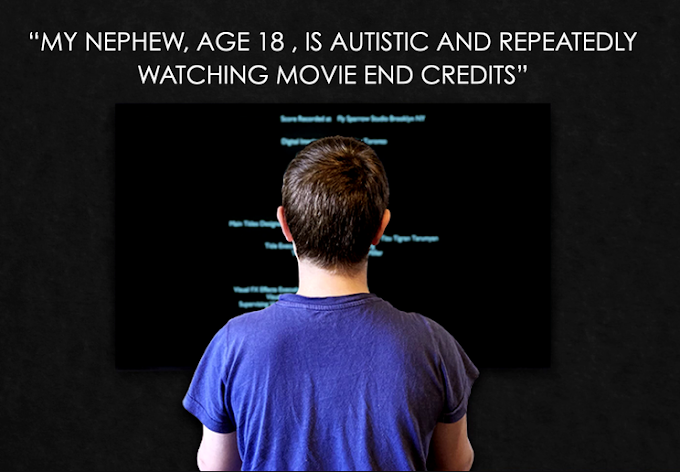 Can subtitles at the end of a movie  be fascinating? Yes. If you are autistic