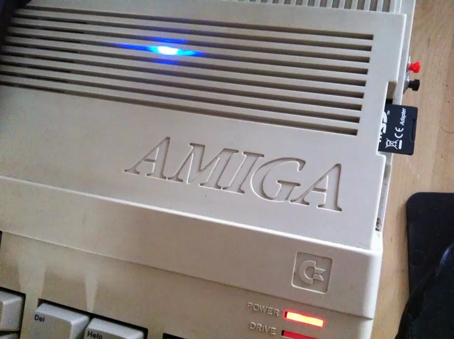 AMIGA RPI DRIVE