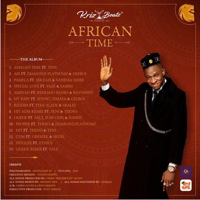 Krizbeatz - African time album