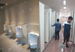 Partisi Cubicle Toilet untuk Fasilitas Umum