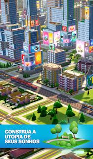 Jogo de construção de cidade para Android Com Dinheiro Infinito