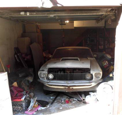 Just A Car Guy: Boss 429 Mustang was on Craigslist, in New York state