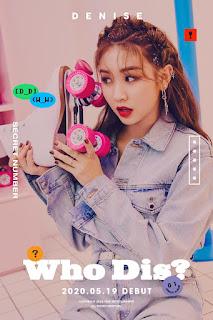 Profil Lengkap Denise secret Number artis Kpop