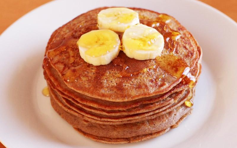 Tortitas de Avena y Plátano | Súper Fáciles y Saludables