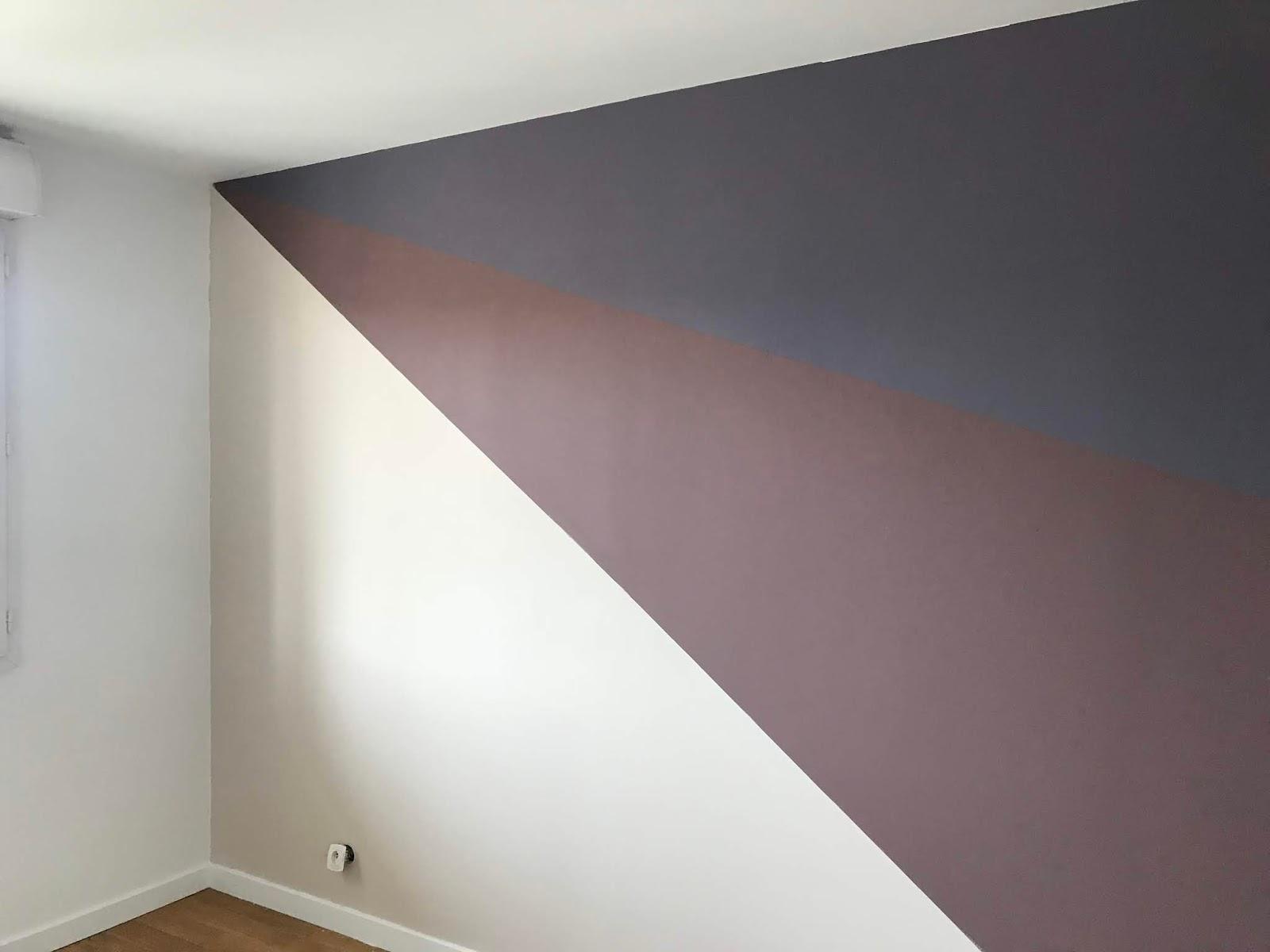 Comment Peindre Un Mur En Trois Couleurs Comme On Est