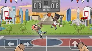 تحميل لعبة basketball battle مهكرة للاندرويد