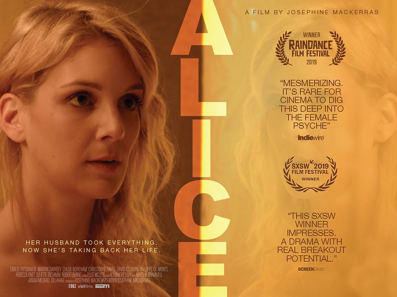 alice uk poster