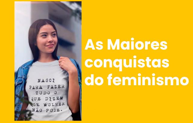 direitos conquistados pelo feminismo