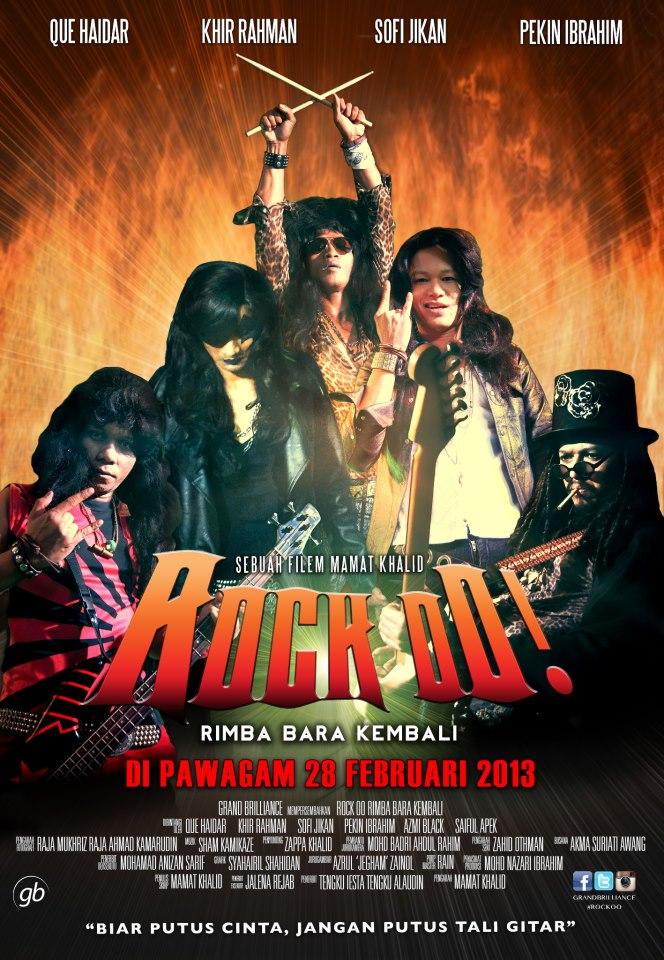 Review Filem Rock Oo - Rimba Bara Kembali