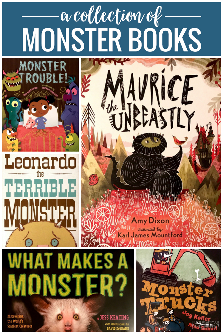 Your students will love this MONSTROUS collection of monster books.  They're a whole lot of fun and just a little bit scary.