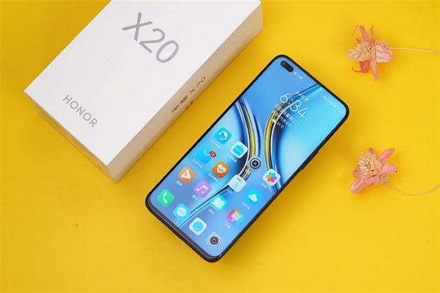 Honor-x20-specs-design-mobile