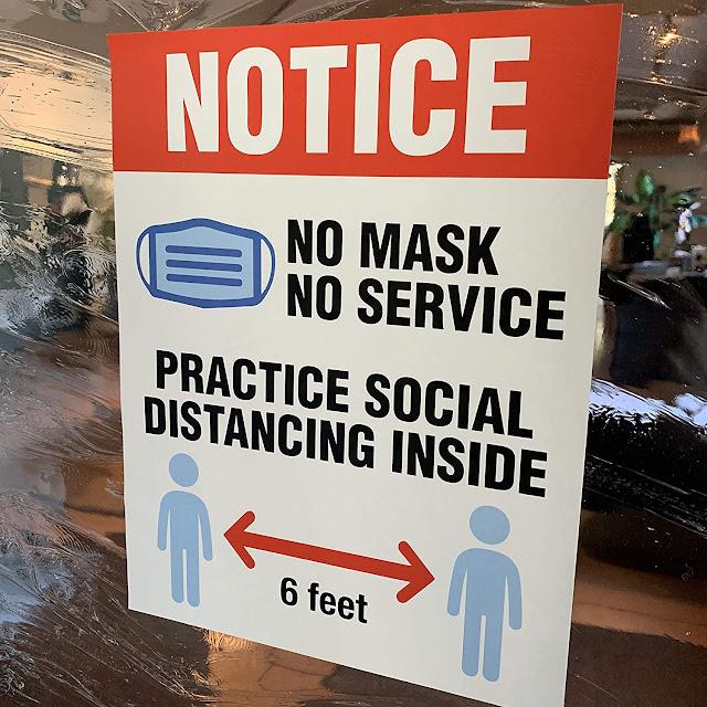 pas de masque, pas de services