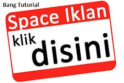 Cara Membuat Kotak Space Banner Iklan Di Blog Tanpa Kode CSS