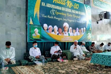 Peluncuran Buku setebal 394 halaman  dalam Peringati haul ke-80 Mbah Kyai Abdurrahman Qasidil Haq
