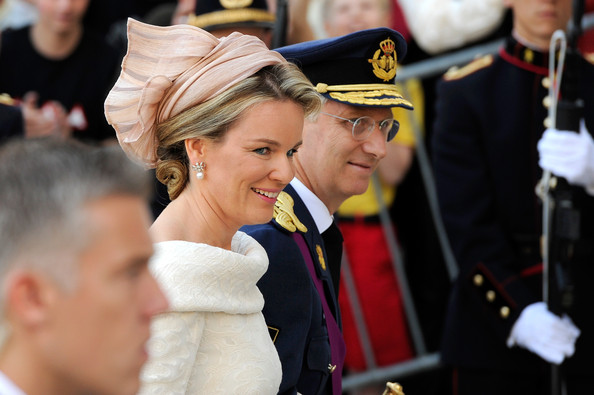 Princess Elisabeth, Duchess of Brabant and heiress to the throne; Prince Gabriel, Prince Emmanuel and Princess Eleanore