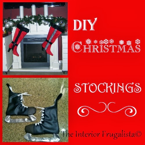 DIY Stiletto Boots and Hockey Skate Christmas Stockings