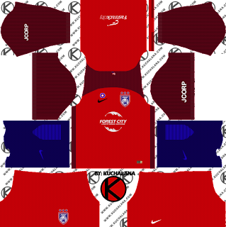 Johor Darul Takzim Kits 2018 - Dream League Soccer Kits
