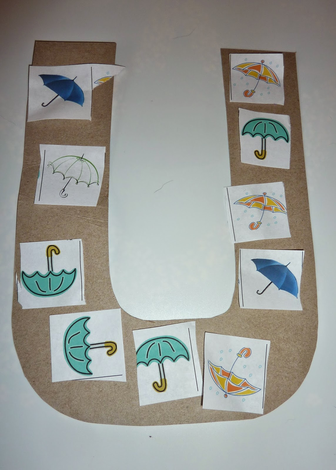 Life With A Toddler Tot School U Is For Umbrella