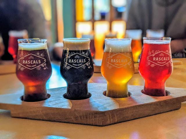 Hidden Gems Dublin: beer tasting at Rascals Brewery