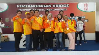 Cabor Bridge Tutup Perolehan Medali Kotabaru