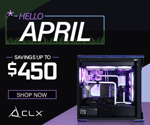 Get Up To 450$ off On CLX Gaming Desktops