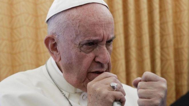 Pope urges international mediation on North Korea crisis
