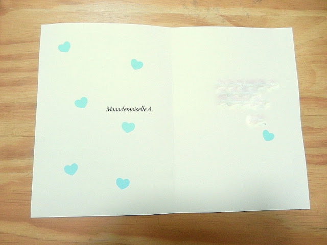 || DIY/Activité : Une carte et des coeurs pour la fête des pères