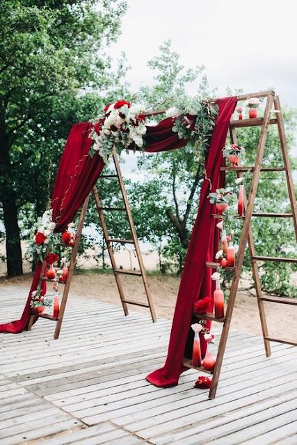 escada no casamento