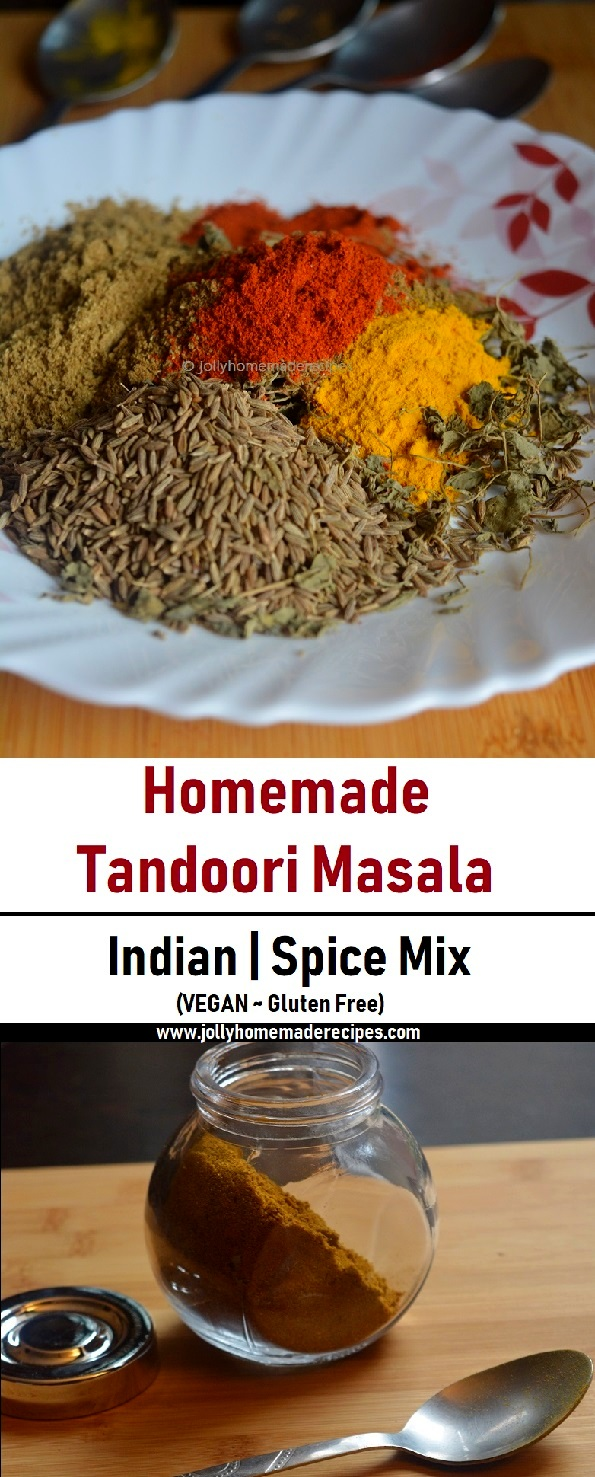 homemade tandoori masala powder