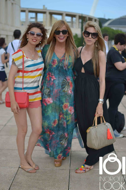 """Street Style 080 Barcelona Fashion Week """