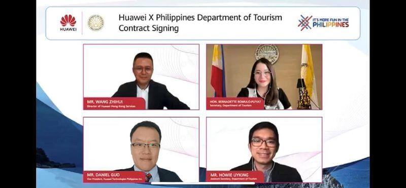 Huawei promotes Philippine tourism