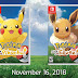 Pokémon: Let's Go, Pikachu! y Pokémon: Let's Go, Eeve! llegarán el 16 de noviembre a Switch