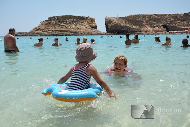 Co warto zobaczyć na Malcie - Blue Lagoon na Comino