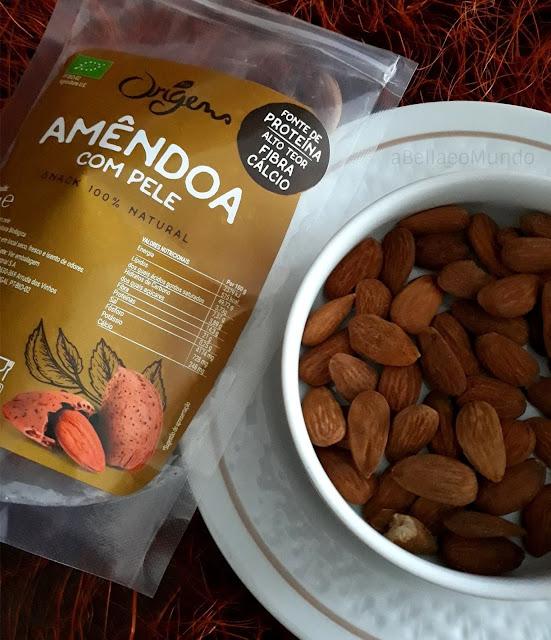 amendoas bio - a bella e o mundo - vegan torta caprese