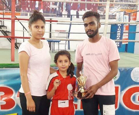 एमआरआईएस 14 की काम्या गोस्वामी ने गोल्ड मेडल जीता
