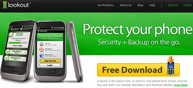 best antivirus android lookout