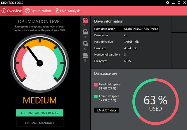 Screenshot Abelssoft SSD Fresh 2019 v8.0.43 Full Version