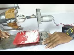 Automated Coconut Scraping Machine
