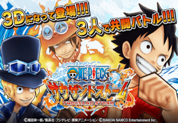 Download Game One Piece Thousand Storm Mod Apk Android Terbaru 2018