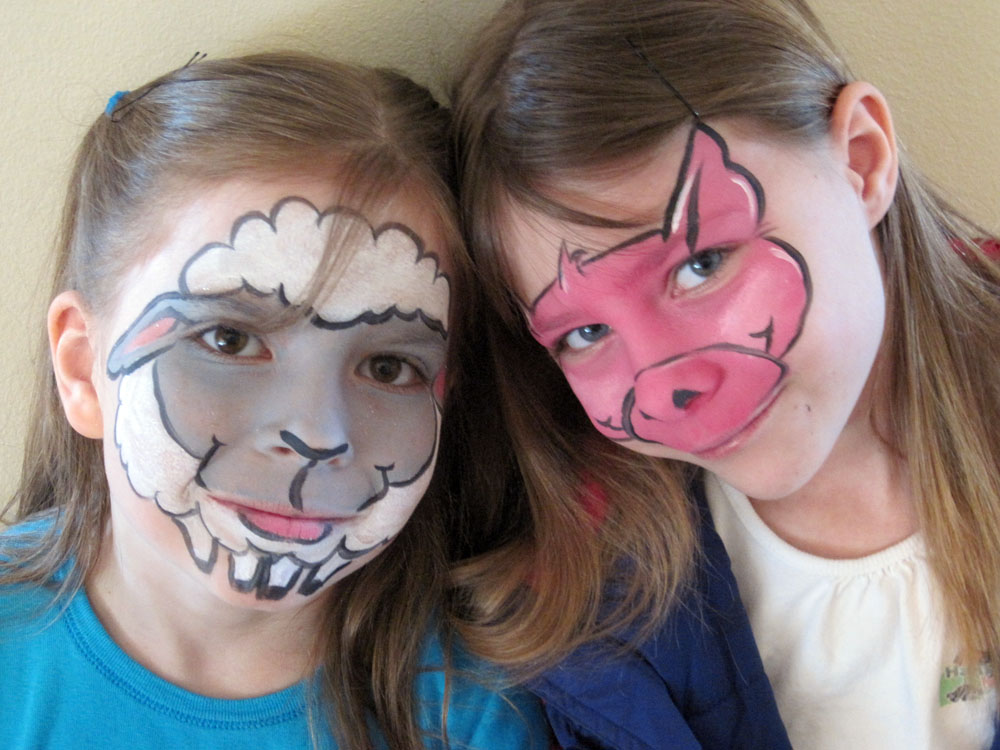 face painting fun by mary march 2011. Black Bedroom Furniture Sets. Home Design Ideas