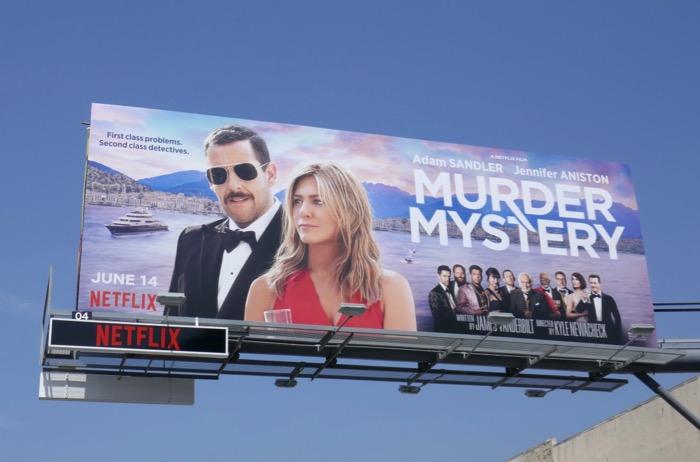 Murder Mystery movie billboard