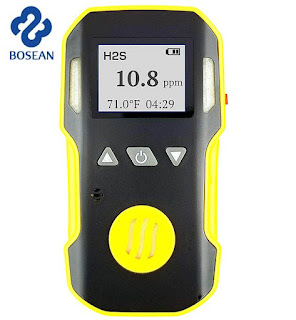 Jual Hydrogen Sulfide H2S Gas Detector Bosean Tlp 08128222998/ 087770760007