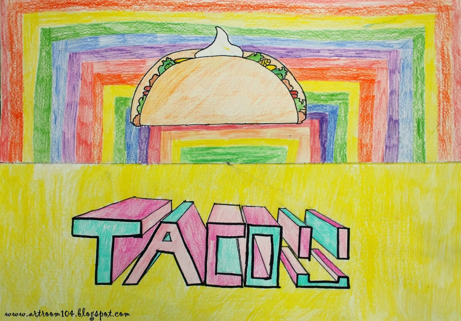 Art Room 104 7th Grade Projects